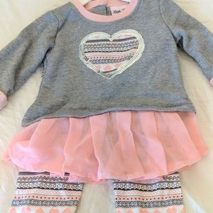 Little Lass 2 piece outfit NWT